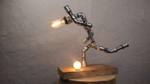 de Voetballer lamp