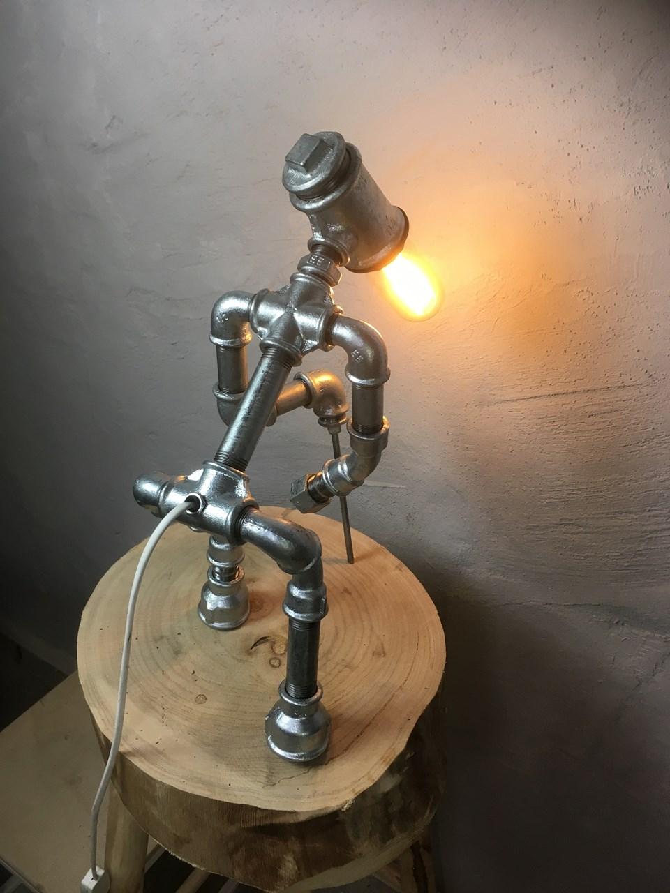 Old man lamp