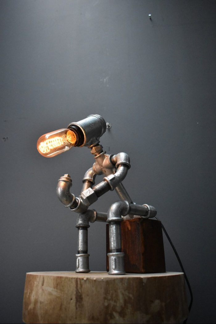 the Thinker lamp