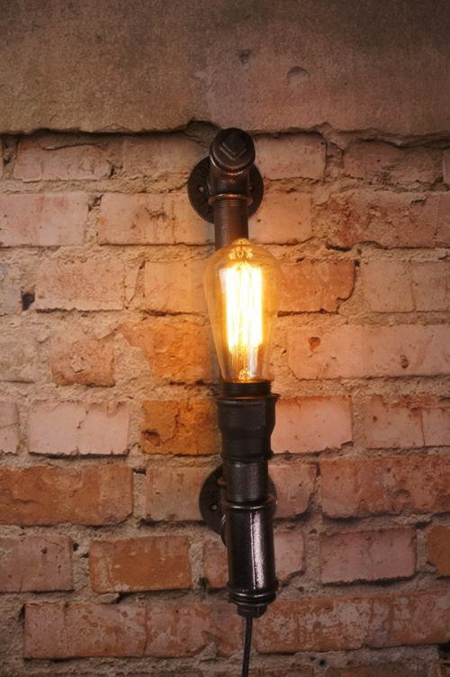 Wall candle lamp